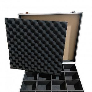 Aluminum Case with New Style Partition