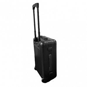 Aluminum Travel Case with trolley